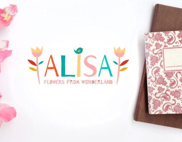 Логотип для студии флористики