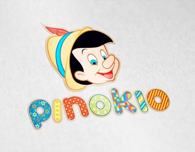 Логотип и персонаж для детского магазина