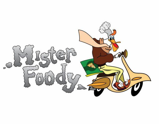 Логотип службы доставки еды