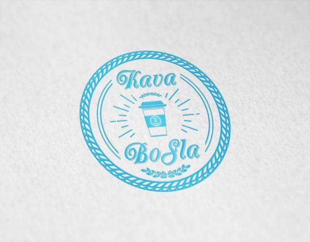 Логотип для кофе с собой