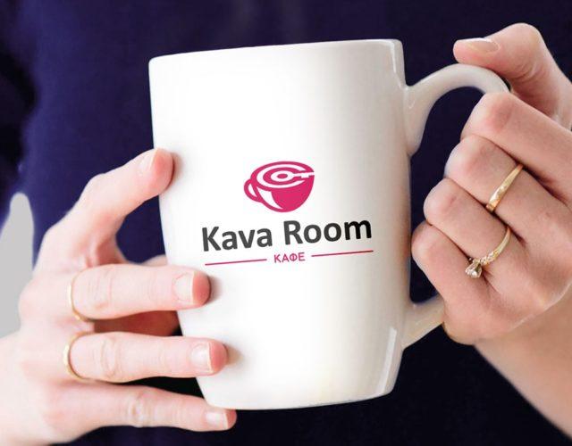 Логотип для кофейни KAVAROOM