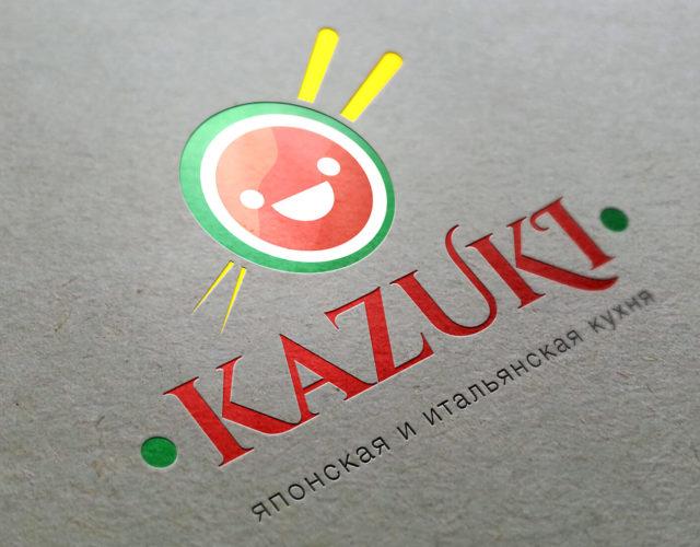 логотип для японской кухни