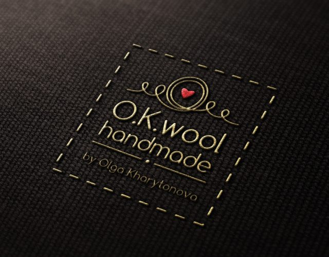 """логотип для изделий ручной работы"""""""