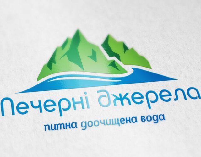 логотип для доставки воды