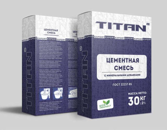 Дизайн упаковки для строительной смеси