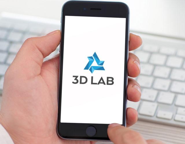 Логотип для 3d печати в медицинской сфере